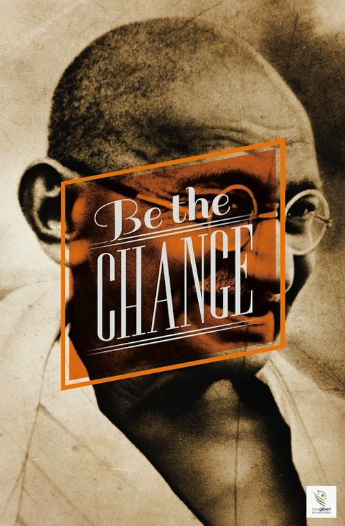Featured image - Be The Change