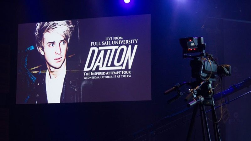 Featured story thumb - American Idol's Dalton Rapattoni at Full Sail Live