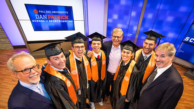 Congratulations to the First Graduates of the Dan Patrick School of Sportscasting - Story image