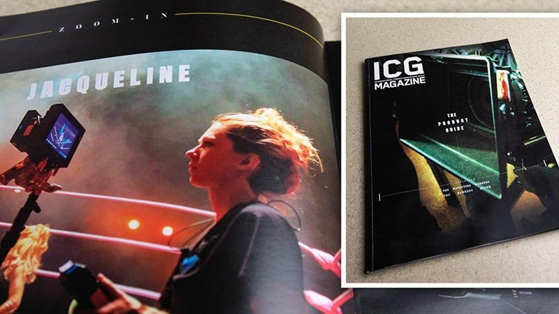 Film Grad Featured in International Cinematographers Guild Magazine - Story image