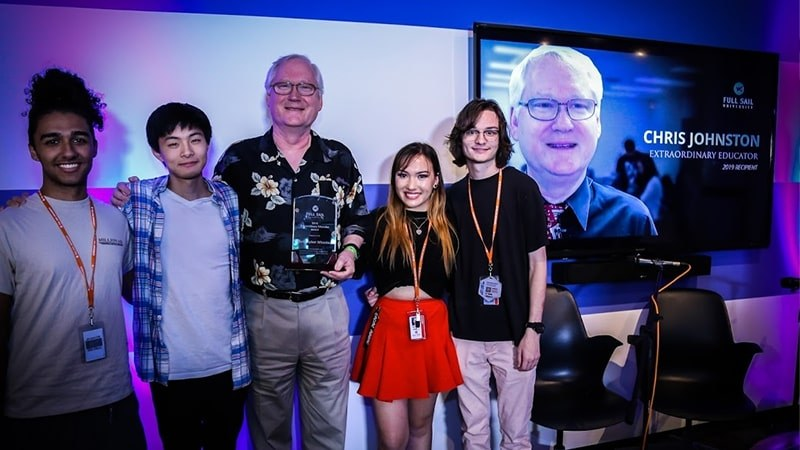 Full Sail Honors Extraordinary High School Teacher Christopher Johnston - Story image