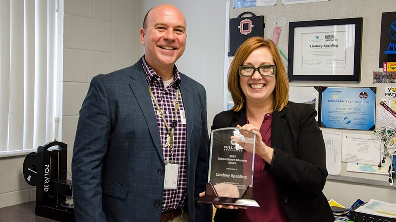 Featured story thumb - Full Sail Honors Extraordinary High School Teacher Lindsey Spalding