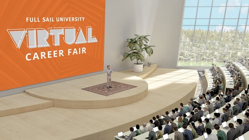 Featured story thumb - Full Sail University Hosts First Virtual Career Fair