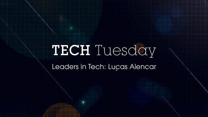 Leaders in Tech: Lucas Alencar - Story image