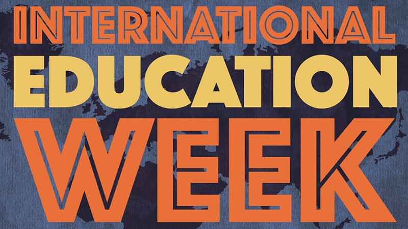 Students and Alumni Gear Up for International Education Week - Story image