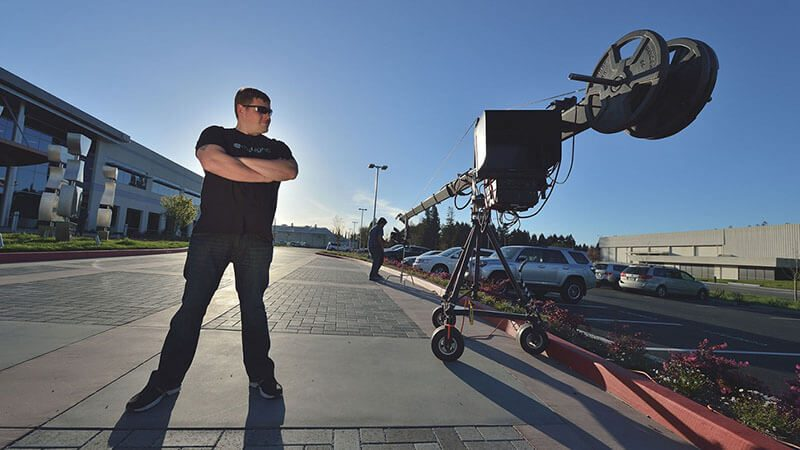 Featured story thumb - What's Your Job? Camera Crane Operator